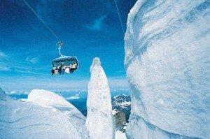 Mit dem Ice-Flyer zum Gletscher