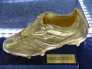 Ronaldos goldener Schuh Foto: R. Keusch