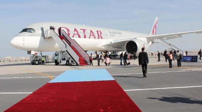 CTOUR vor Ort: Premiere des neuen Airbus A 350 XWB in Doha 1