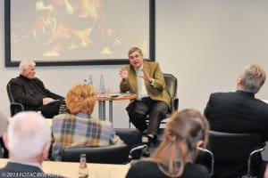 DRV-Präsident Jürgen Büchy (r.) im Gespräch mit CTOUR-Vorstandsmitglied Klaus George