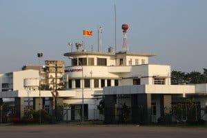 Ratmalana Airport südlich von Colombo Foto: L. Schönfeld