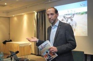 Steffen Boehnke während seiner Präsentation rund um TUI-Fernreisen Foto: Steffen Boehnke während seiner Präsentation rund um TUI-Fernreisen