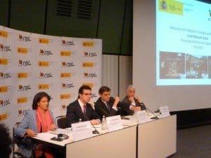 Pressekonferenz Spanien Foto: H. Schmidt