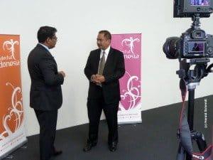 Der neue Tourismus- Minister nach der Wahl 2014: Dr. Arief Yhya