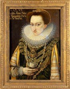 Kurfürstin Anna von Brandenburg, geb. von Preußen (1576–1625) Daniel Rose, um 1600 Foto: Wolfgang Pfauder © Stiftung Preußische Schlösser und Gärten Berlin-Brandenburg
