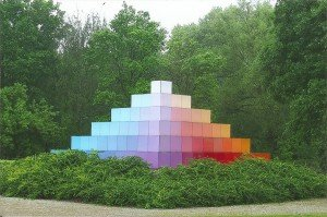 Pyramide im Optikpark Rathenow
