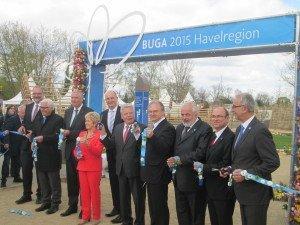 Eröffnung der BUGA mit Bundespräsidenten und BUGA-Schirmherr Joachim Gauck