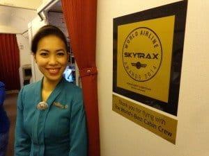 2014 erhielt die Airline eine der begehrtesten Skytrax-Auszeichnungen