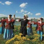 Folkloregruppe in Kars