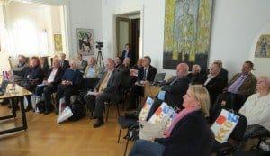 CTOUR-Medientreff  in der Botschaft Kroatiens Berlin Foto: Matthias Dikert