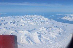 Spitzbergen aus nur 4.500 Metern Flughöhe