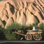 Tuffsteinlandschaft in Kappadokien