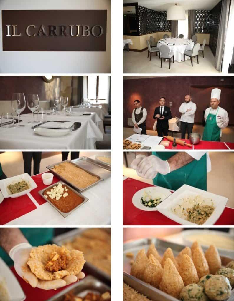 Kochkurs im Restaurant Il Carrubbo