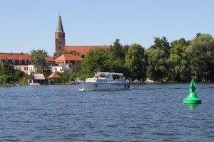 Blick zum Dom in Brandenburg