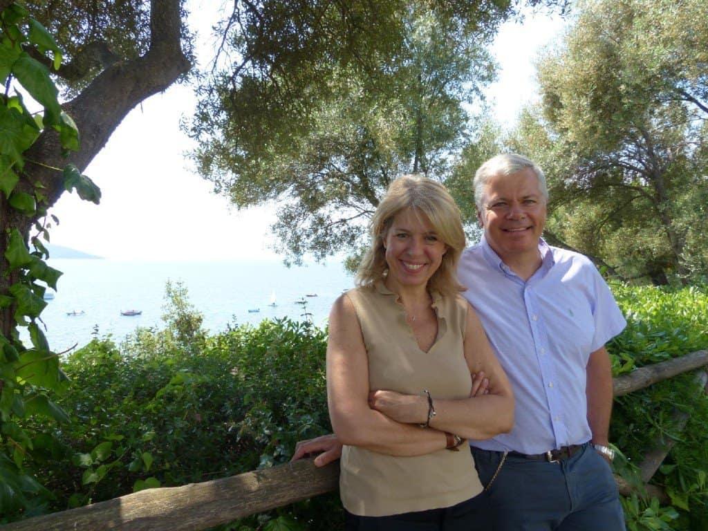 Elina und Konstantinos Tornivoukas