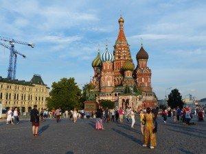 Buntes Treiben auf dem Roten Platz