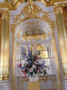 Im Katharinenpalast - Gold, wohin man schaut Foto: H.-G. Schubert