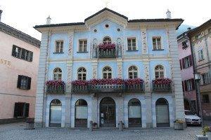 Poschiavo: Patrizierhäuser im Palazzi-Stil