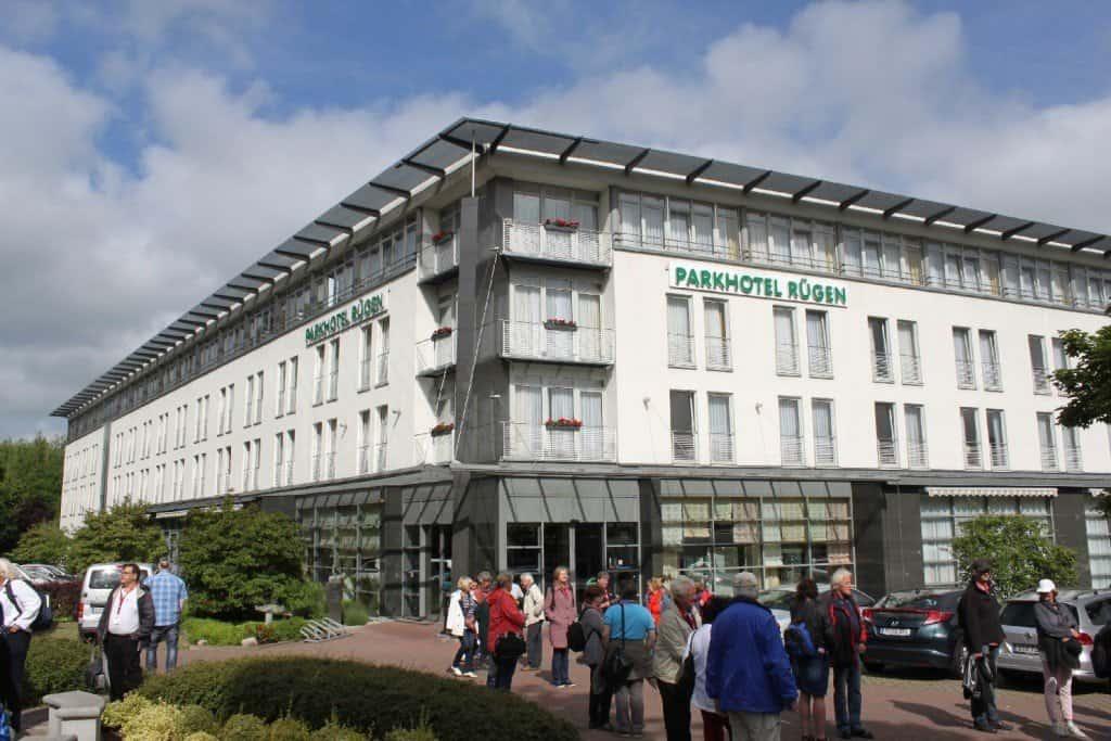 Parkhotel Rügen in Bergen Foto: H.-P. Gaul