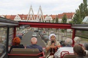 Mit Stadtführerin Christine Schinke in Leipzig unterwegs
