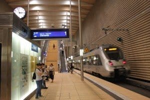 Bahnstation Markt im City-Tunnel