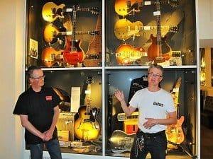 Die gitarrenverrückten Zwillingsbrüder Samuel und Mike haben ein Musikmuseum von Weltklasse geschaffen.