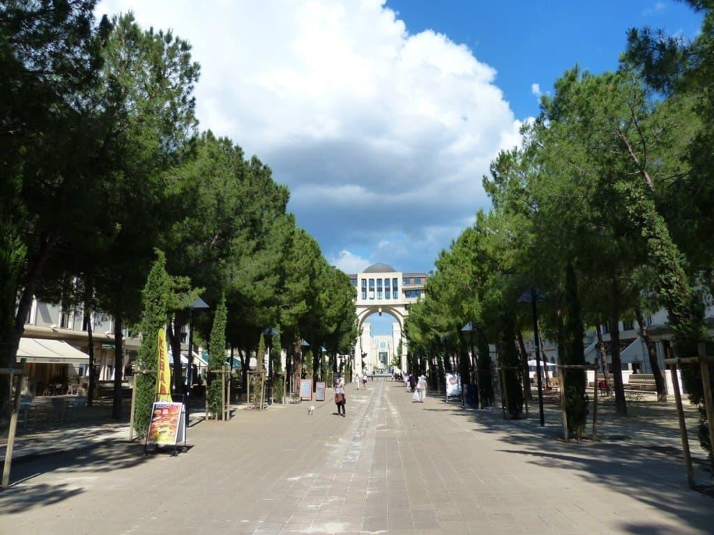 Die Stadt Montpellier