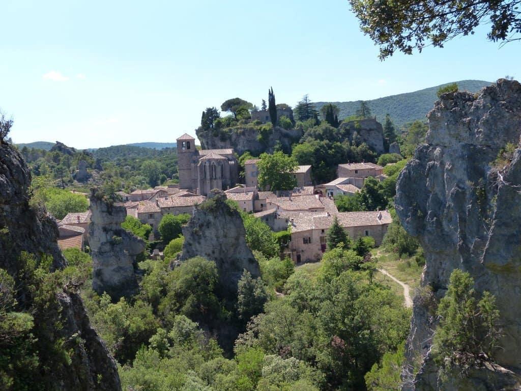 Das Dorf Morèze