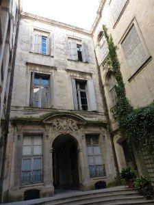 Innenhof eines Stadthauses