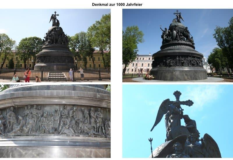 Denkmal zur 1000-Jahrfeier.