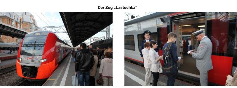 Der Zug Lastochka