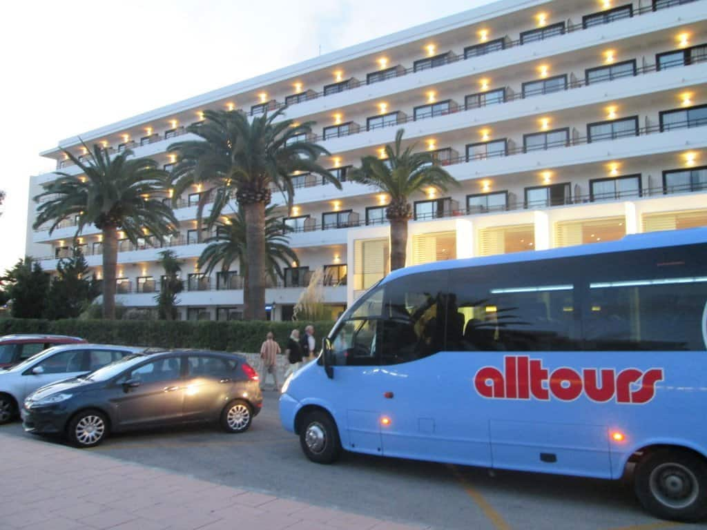 allsun-Hotel Bahia del Este in Cala Millor auf Mallorca Fotos: H.-P. Gaul