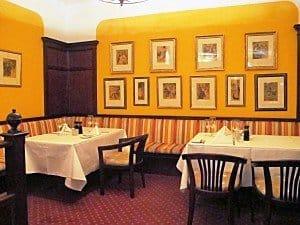 Im Restaurant Mark Brandenburg