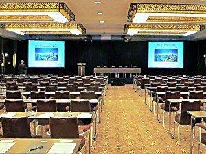 Teil des leistungsfähigen Konferenzbereiches