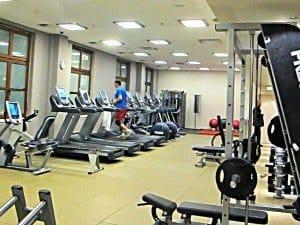 Fitnesscenter mit modernsten Geräten