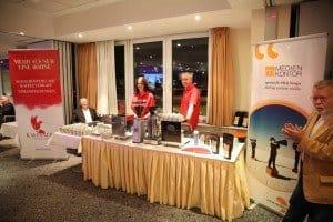 Kaffee-Spezialitäten aus Dresden gab's am KAFFANERO-Stand