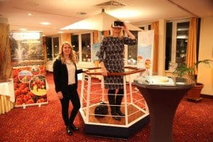 TUI Cruises-Stand – mit Oculus-Rift-Brille on Tour