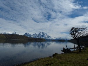 Versorgungslager am Lago Sarmiento