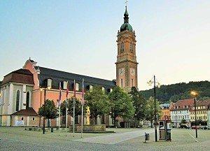 Die Georgenkirche am Markt, wo einst Martin Luther predigte. Dort wird mit einem offiziellen Festakt das Reformationsjubiläum 2017 eröffnet.