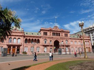 Regierungspalast Casa Rosada