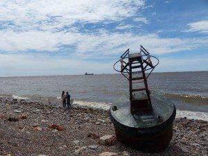 Am Ufer des Rio de la Plata