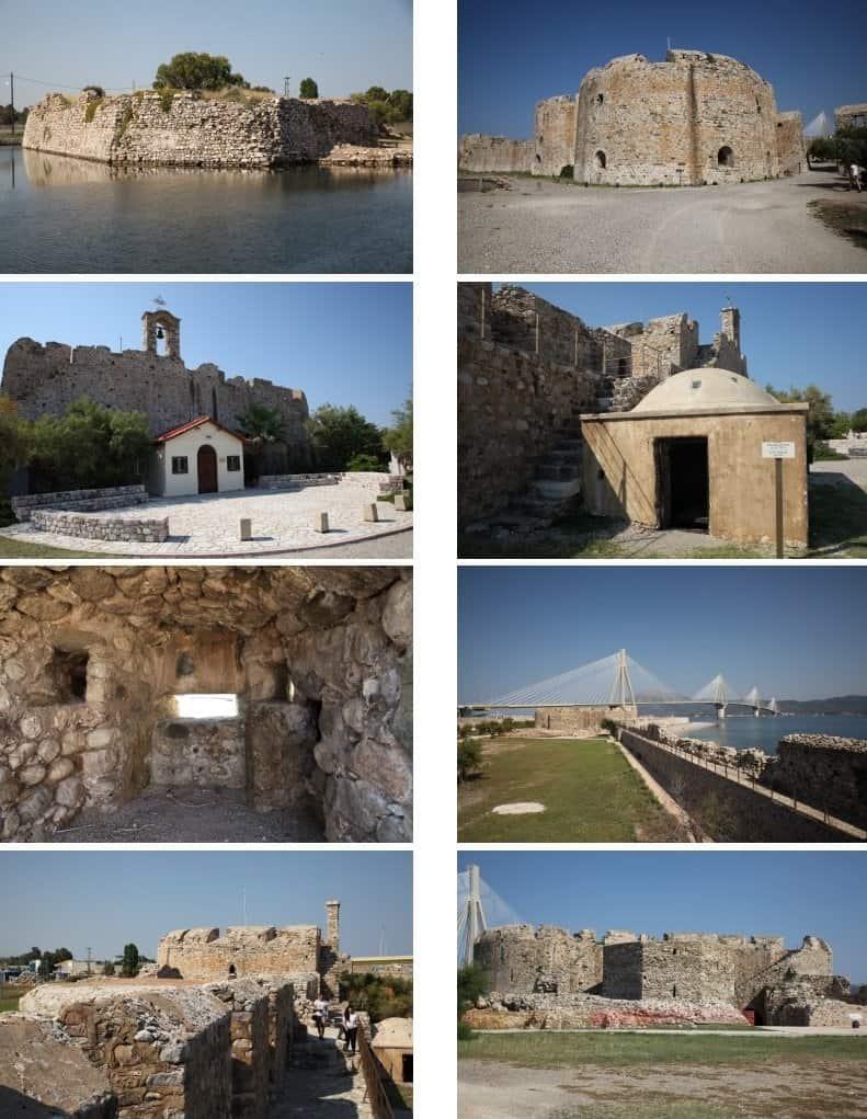 Festung von Rio und Schrägseilbrücke