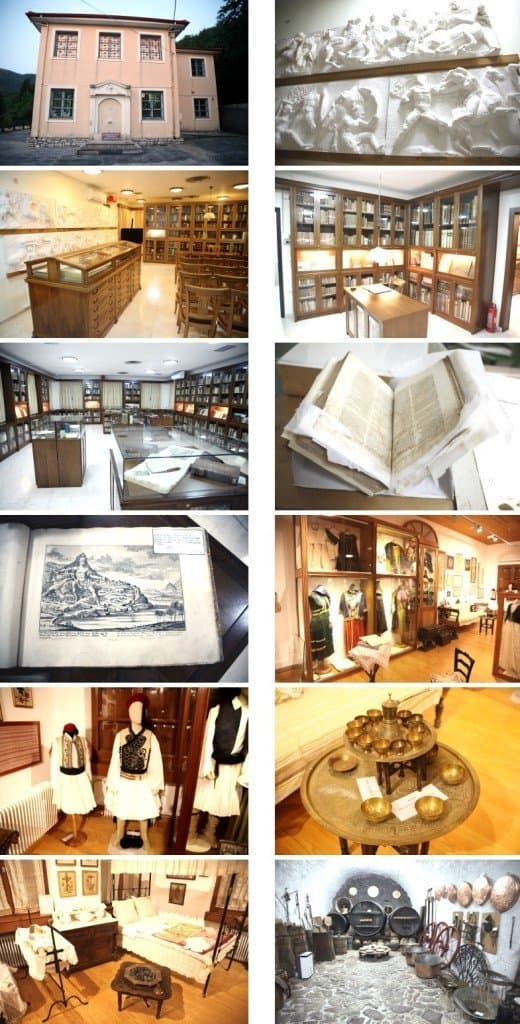 Volkskundemuseum und Bibliothek