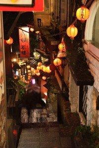 Gasse in Jioufen