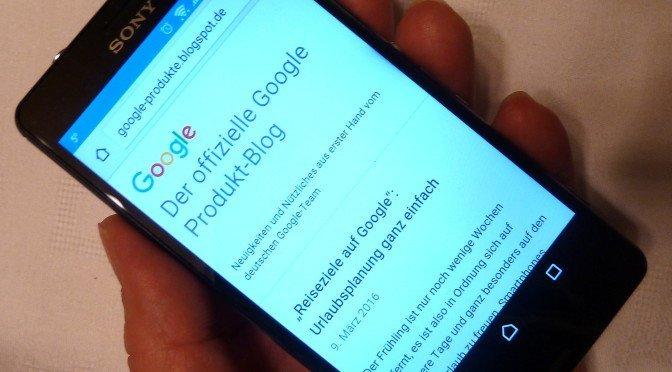 CTOUR auf der ITB 2016: Google füllt Lücke mit 'reiseziele'