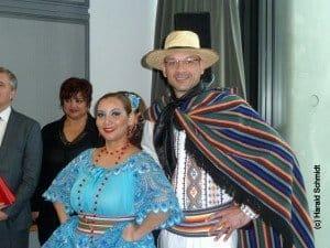 Paraguayisches Tanzpaar