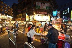 Shilin-Nachtmarkt in Taipeh