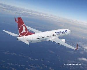Turkish Airlines über den Wolken © Turkish Airline