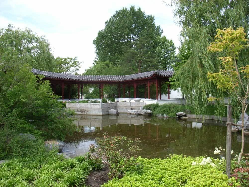 Chinesischer Garten in den Gärten der Welt