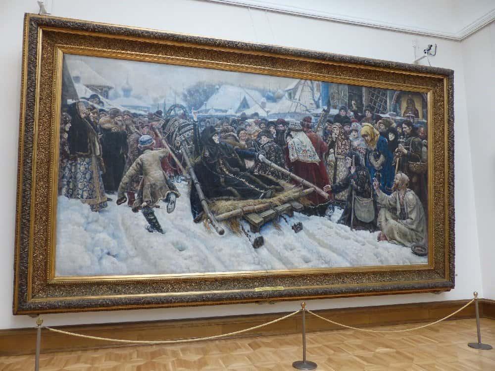 "W. Surikow ""Die Bojarin Morosowa"" Tretjakow-Galerie"